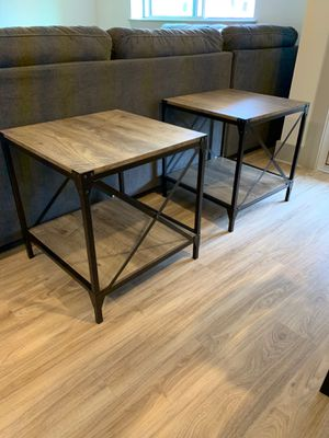 2 Brand New Rustic End Tables! for Sale in Phoenix, AZ