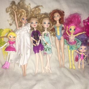 "Disney dolls lot of 10 (12"" 11"" 9"" 6"") for Sale in Duluth, GA"