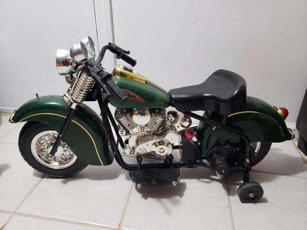 Children's indian motorcycle