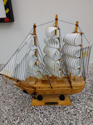 Ship model wood Belem for Sale in Pompano Beach, FL
