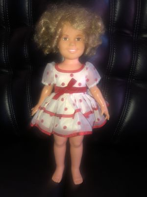 SHIRLEY TEMPLE DOLL 1972 ORIGINAL DRESS KNICKERS BOBBY PINS NO BOW for Sale in Hayward, CA