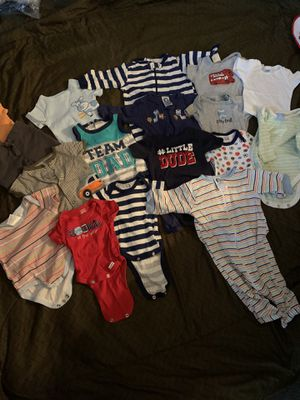 0-3 months boys clothes. Stain and smoke free. for Sale in Buffalo, NY