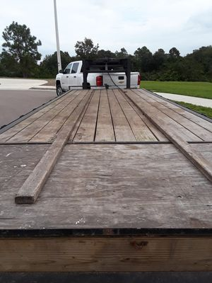 Big Tex gooseneck 24 foot / 14,000 lb payload this trailer has new lights brakes work new deck new tires ready for the road no issues for Sale in Riverview, FL