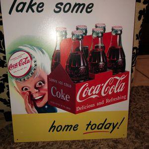 Vintage Coca Cola Advertisement Sign for Sale in Orlando, FL