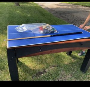 3-way pool, air hockey and ping pong table! for Sale in Minneapolis, MN