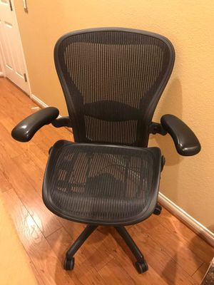 Aeron Herman Miller office chair Size C fully loaded for Sale in Las Vegas, NV