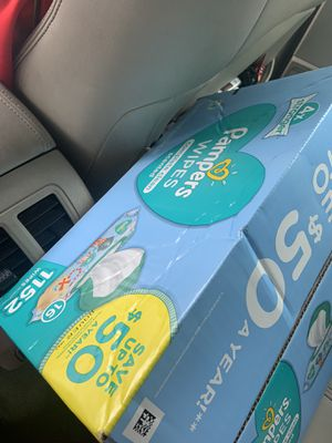 Pampers (wipes only) 1152 wipes total $25 for Sale in Lancaster, TX