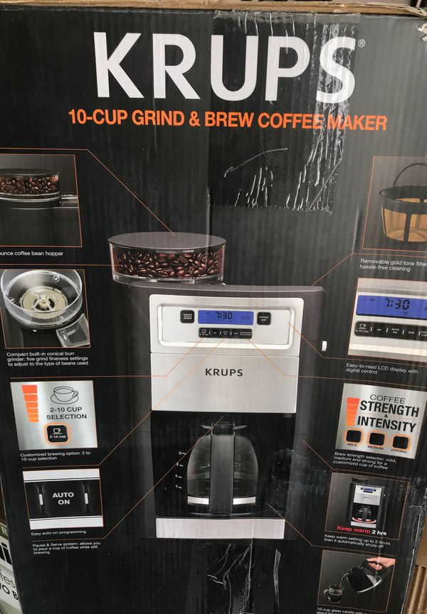 Krups Brew Coffee Maker