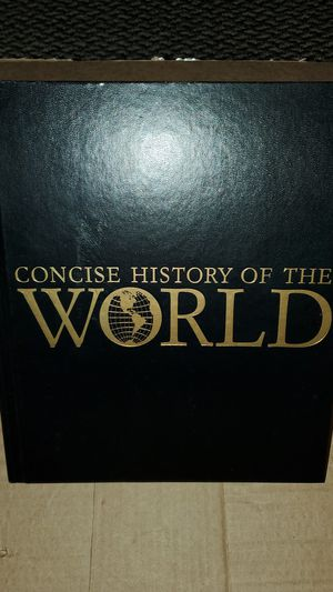 Concise History of the World An Illustrated Timeline for Sale in Redwood City, CA