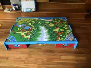 Learning Curve Thomas & Friends Wooden Railway - Under-The-Bed Trundle Playtable for Sale in Smyrna, GA