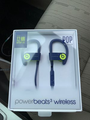 PowerBeats3 Wireless (opened box, but never used ) for Sale in Brooklyn, OH