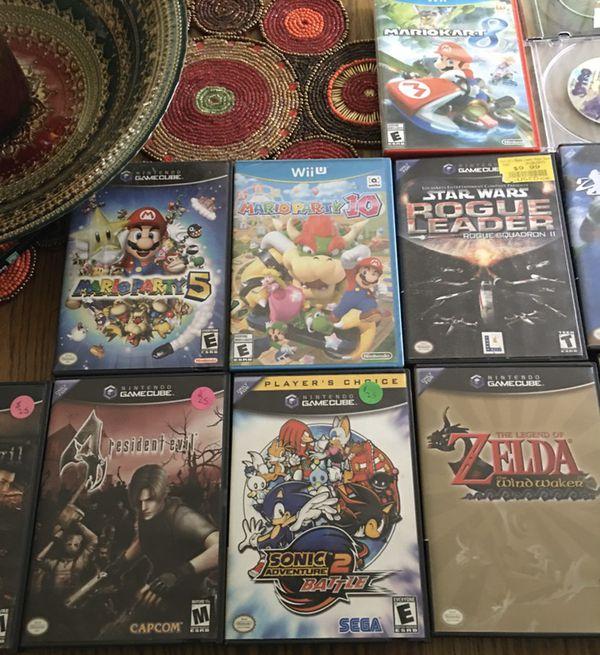 Nintendo GameCube Assorted Games Mario Party Zelda