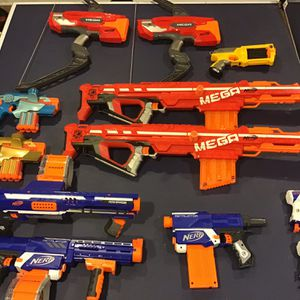 Nerf Guns (assorted) for Sale in Macomb, MI