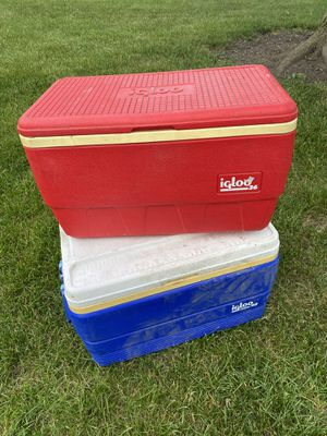 2 coolers for Sale in Columbus, OH