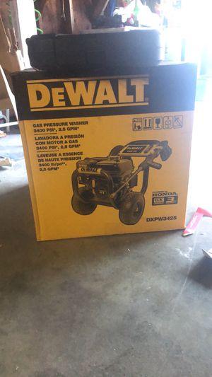 Dewalt Gas pressure washer 3400 psi. 2.5 GPM Brand new for Sale in Clinton, MA
