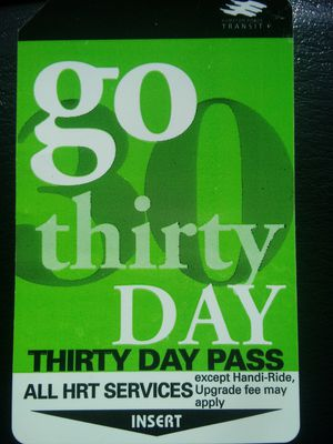 HRT 30 DAY BUS PASS for Sale in Newport News, VA
