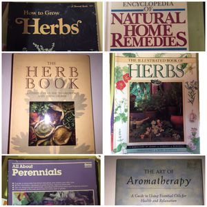 Lot of Herb Books for Sale in Salem, OH