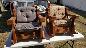 Kids old wooden chairs for Sale in Penn Hills, PA