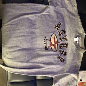 Houston Astros LogoAthletic Shirt for Sale in Houston, TX