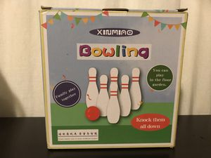 Bowling Set for Kids for Sale in Seattle, WA