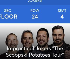 Impractical Jokers Tickets for Sale in Hillsboro,  OR