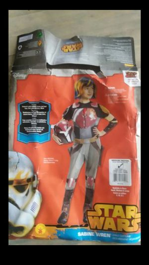 "Star wars Halloween girls costume size M ""Sabine Wren"" for Sale in Arvada, CO"