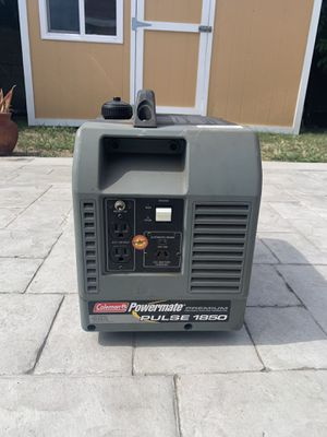 Coleman Powermate Pulse 1850 watt portable power generator for Sale in Lawndale, CA