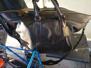 Coach duffel bag black for Sale in San Francisco, CA