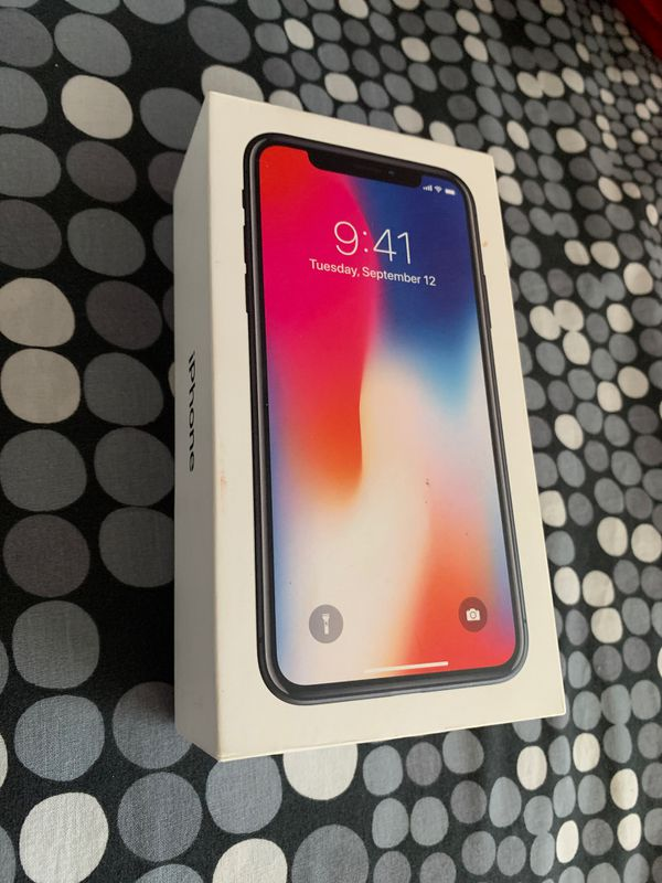 iPhone X BOX ONLY