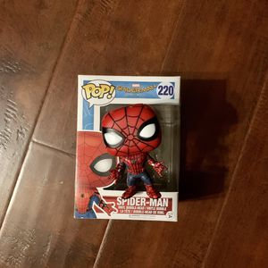 Custom Painted Spider-Man: Homecoming Funko Pop for Sale in Los Angeles, CA