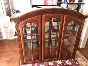 Glass cabinet for Sale in Kent, WA