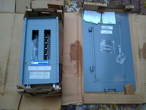Square D Circuit Panel and Door for Sale in Charleston, WV