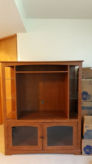 Brand New Entertainment Center Free for pickup for Sale in Sartell, MN