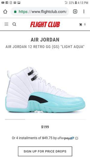 Jordan 12s Light Aqua for Sale in Denver, CO