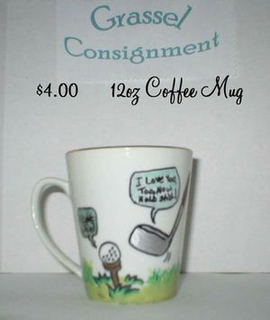 Hand painted coffee mugs by me for Sale in Lakeland, FL