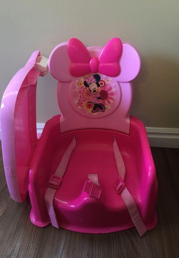 Minnie chair and bath trainer dora
