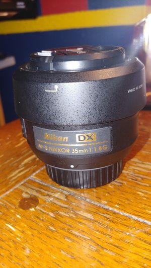 Nikon DX AF-S Nikkor 35mm 1.8G for Sale in Carrollton, TX