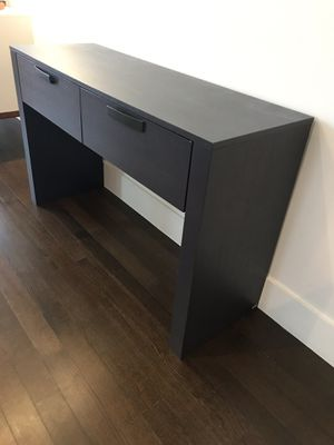 Beautiful EQ3 Two Drawer Console Table for Sale in Portland, OR