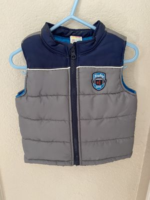 Boys puffy winter vest size 18 months for Sale in Apache Junction, AZ