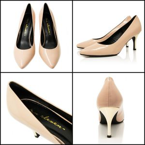 RHEA CHAMPAGNE PINK WITH GOLD HEELS Handmade 100% Leather Shoes for Sale in Diamond Bar, CA