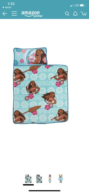 New condition Disney Moana Toddler Nap Mat for Sale in Madison, WI