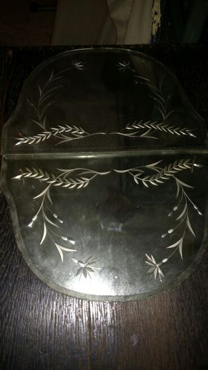 2 Antique etched mirror pieces for Sale in Charlotte, NC