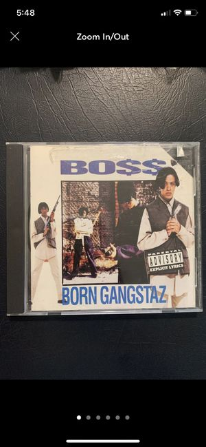 BO$$ Born Gangstaz CD for Sale in Fresno, CA