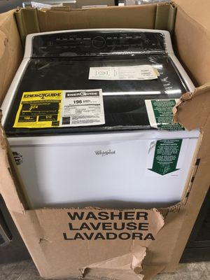 Whirlpool cabrio 5.3 cubic feet top load washer for Sale in Claremont, CA