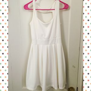 White Skater Dress for Sale in Quincy, MA