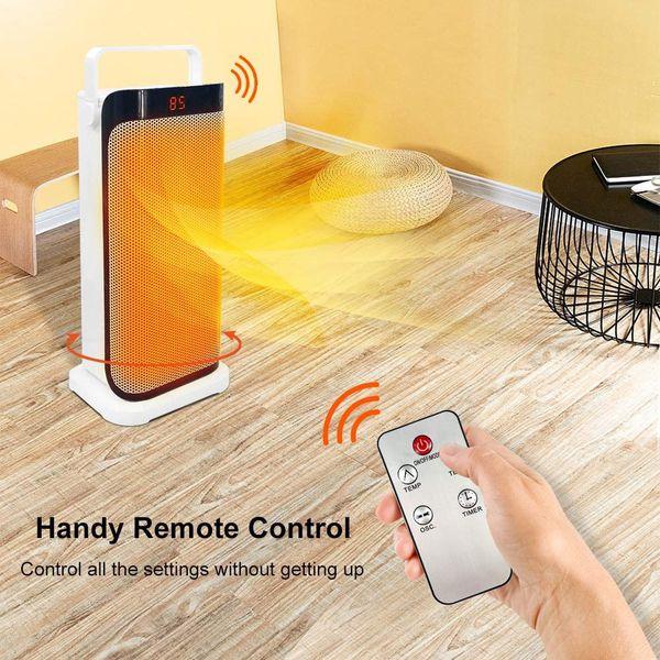 REMOTE CONTROLLED SPACE HEATER