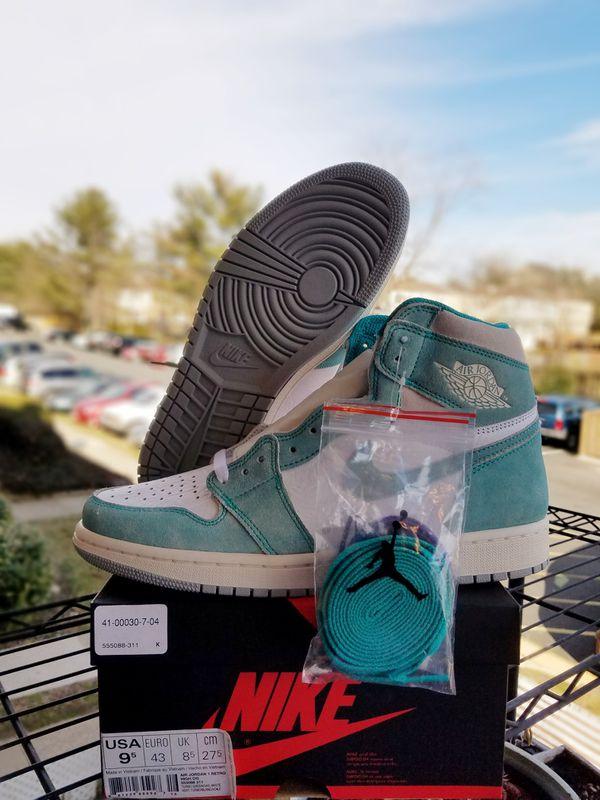 "Size 9.5 Jordan 1 ""Turbo Green""!!!!"
