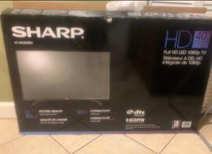 """40"""" Sharp HD TV for Sale in Central Falls, RI"""