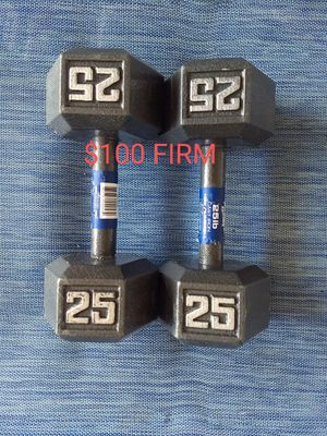 Brand New!! 25 Pound Dumbbells FIRM for Sale in Yucaipa, CA