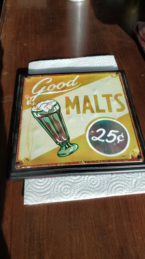 Good malts Shake sign for Sale in Menomonie, WI